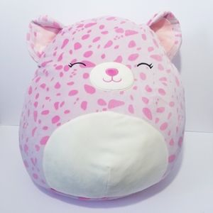 """NWT Squishmallows Lorie The Leopard 20"""""""